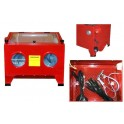Cabine de sablage - 90 L - Nécessite air 200 à 350 L/min