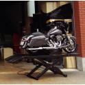 Pont élévateur moto pneumatique 450 Kg plateau 296x61 cm